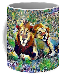 Lion Buddies Coffee Mug