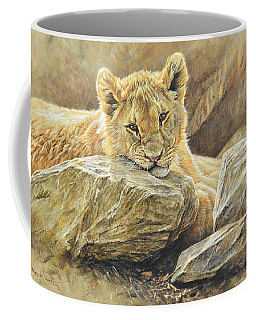 Lion Cub Study Coffee Mug