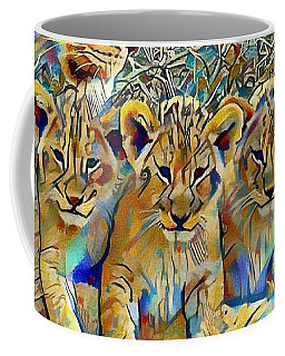Lion Cubs Coffee Mug