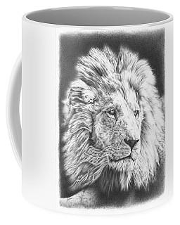 Fluffy Lion Coffee Mug