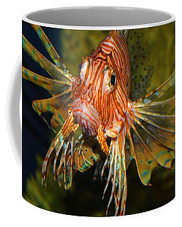 Lion Fish 2 Coffee Mug by Kathryn Meyer