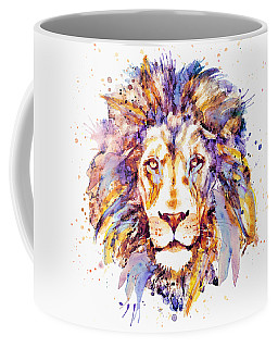Lion Head Coffee Mug