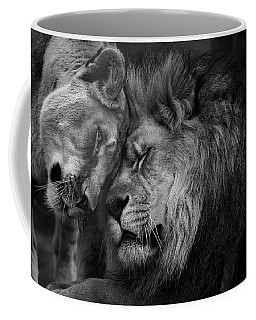 Lion In Love 2 Coffee Mug