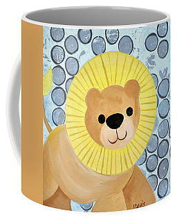 The Blessing Of The Lion Coffee Mug