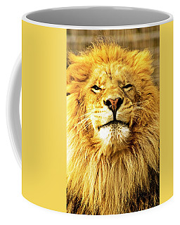 Lion King 1 Coffee Mug by Ayasha Loya