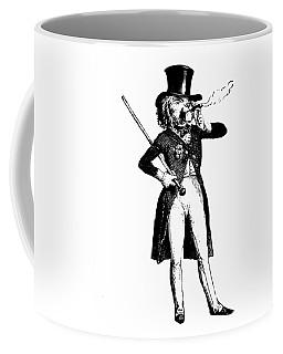 Lion King Grandville Transparent Background Coffee Mug