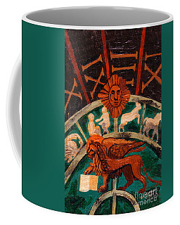 Lion Of St. Mark Coffee Mug by Genevieve Esson