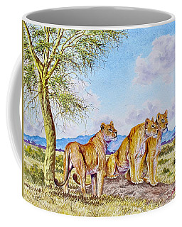 Lion Pack Coffee Mug