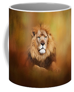 Lion - Pride Of Africa I - Tribute To Cecil Coffee Mug