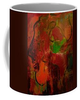 Lion Proile Coffee Mug