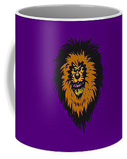 Lion Roar Purple Coffee Mug