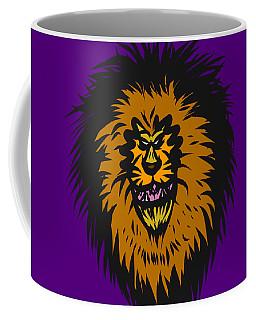 Lion Roar Purple Coffee Mug