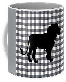 Lion Silhouette Coffee Mug