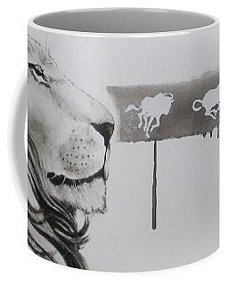 Lion Tears Coffee Mug