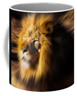 Lion The King Is Comming Coffee Mug