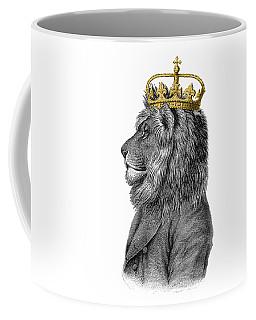 Lion The King Of The Jungle Coffee Mug