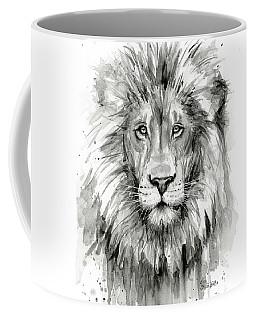 Lion Watercolor  Coffee Mug