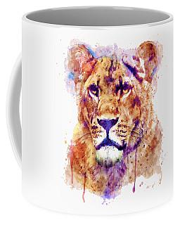 Lioness Head Coffee Mug