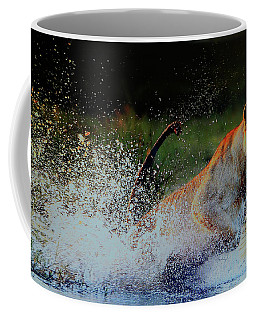 Lioness In Motion Coffee Mug