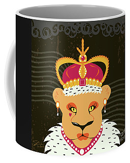 Lioness Queen Coffee Mug