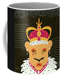 Lioness Queen Coffee Mug