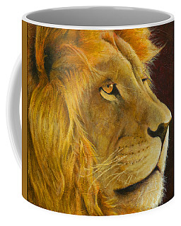 Lion's Gaze Coffee Mug