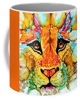 Lion's Head Gold Coffee Mug