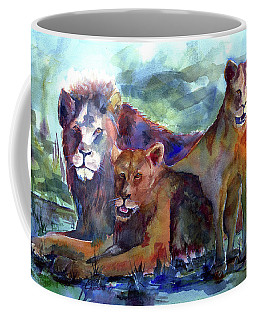 Lion's Play Coffee Mug
