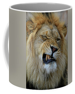 Lions Wink Coffee Mug
