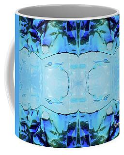 Coffee Mug featuring the digital art Liquid Abstract  #0059-2 by Barbara Tristan