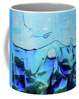 Coffee Mug featuring the photograph Liquid Abstract  #0059 by Barbara Tristan