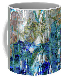 Coffee Mug featuring the photograph Liquid Abstract #0061 by Barbara Tristan