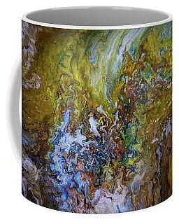 Liquid Abstract 2 Coffee Mug by Lilia D