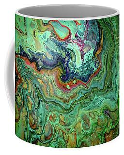 Liquid Abstract 3 Coffee Mug by Lilia D