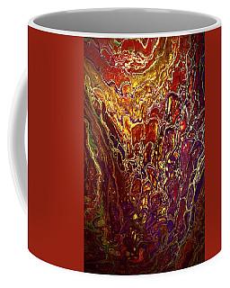 Liquid Abstract 6 Coffee Mug by Lilia D