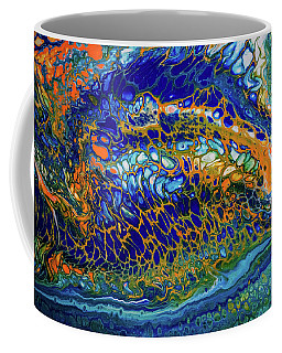 Liquid Abstract 8 Coffee Mug by Lilia D