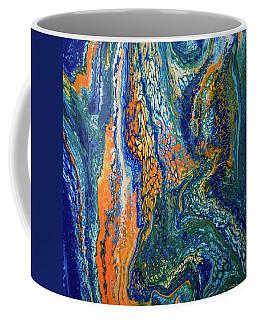 Liquid Abstract 9 Coffee Mug by Lilia D