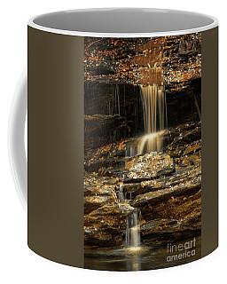 Liquid Gold Coffee Mug by Debbie Green