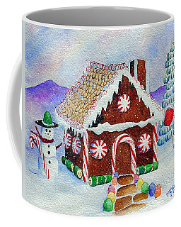 Lisa's Gingerbread House Coffee Mug