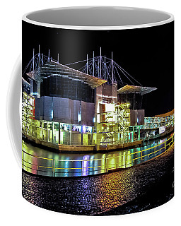 Lisbon - Portugal - Oceanarium At Night Coffee Mug