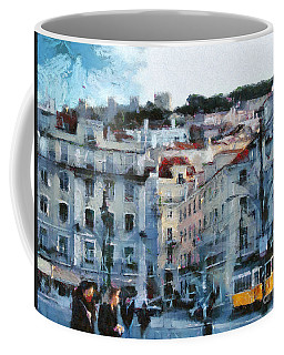 Lisbon Street Coffee Mug