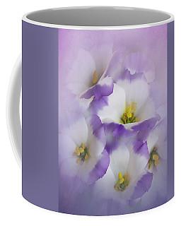 Lisianthus Grouping Coffee Mug by David and Carol Kelly