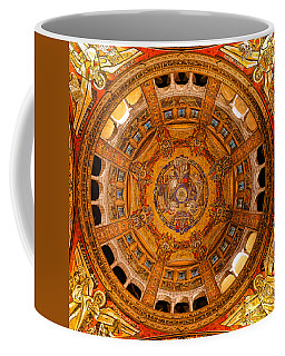 Lisieux St Therese Basilica Dome Ceiling Coffee Mug