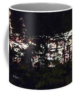 Coffee Mug featuring the photograph Lit Like Stained Glass by Felipe Adan Lerma
