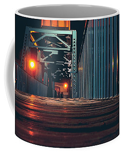 Coffee Mug featuring the photograph Lit Up by Viviana  Nadowski
