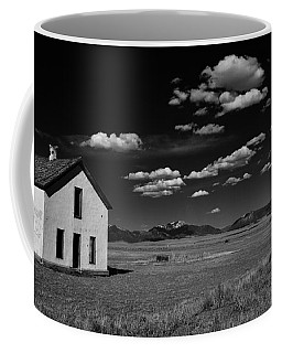 Little Abandoned House On The Prairie Coffee Mug