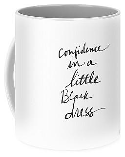 Little Black Dress - Art By Linda Woods Coffee Mug