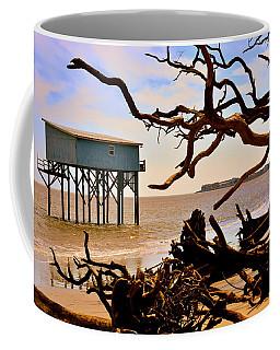 Little Blue Hunting Island State Park Beaufort Sc Coffee Mug