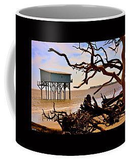Little Blue Hunting Island State Park Beaufort Sc Coffee Mug