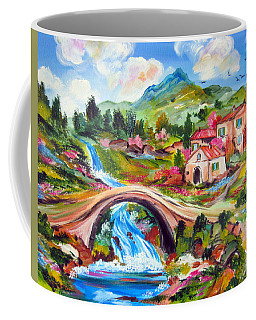 Little Bridge And Country Farm Coffee Mug